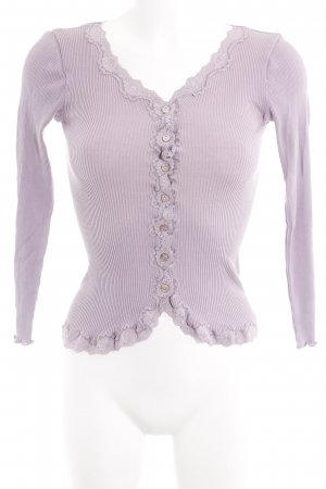 Rosemunde Strickjacke blasslila Casual-Look