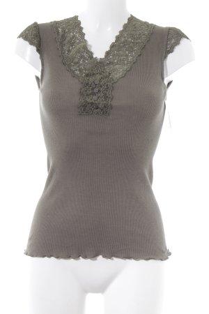 Rosemunde T-Shirt grüngrau Casual-Look