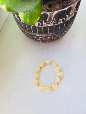 Braccialetto sottile giallo chiaro