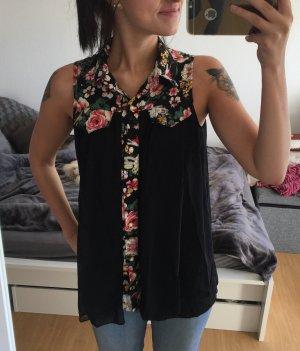 Rosen hemd schwarz S