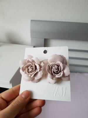 rosen ohrstecker h&m neu