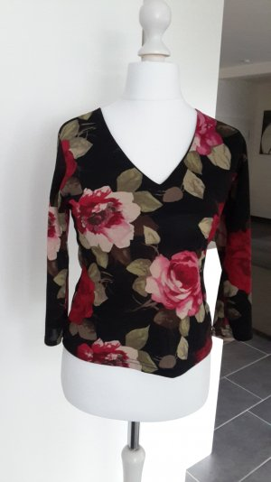 Rosen-Shirt Langarm, Gr.12