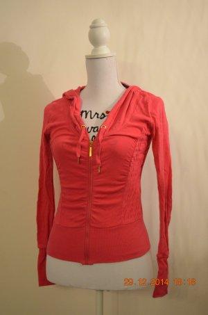 rosene/pinke T-Shirtjacke