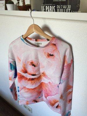 Rosenpullover von Zara, Größe S
