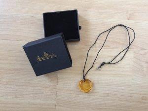 Catena nero-giallo-oro Vetro
