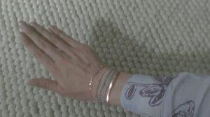rosévergoldete Armbänder