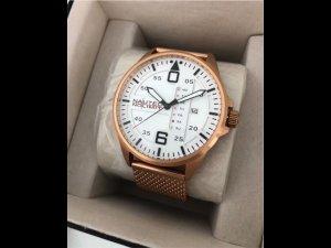 Rosévergoldete Armbanduhr