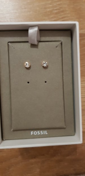 Fossil Earring rose-gold-coloured