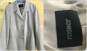 Rosner Wool Blazer light grey mixture fibre