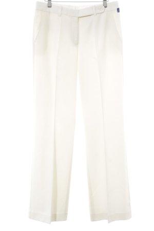 Rosner Pantalon à pinces blanc cassé style simple