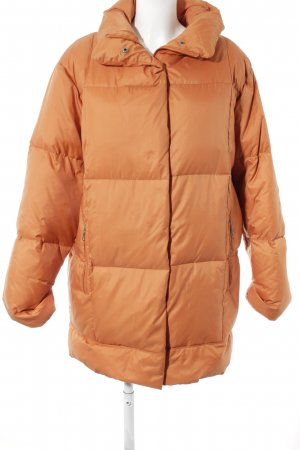 Rosner Down Coat orange casual look