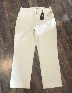 Rosner 7/8 Length Trousers white