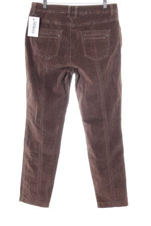 Rosner Hüfthose braun Jeans-Optik
