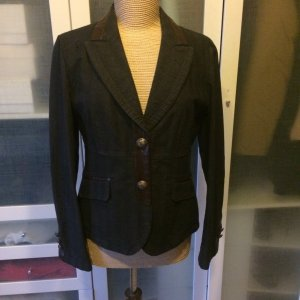 Rosner Denim Blazer dark blue cotton