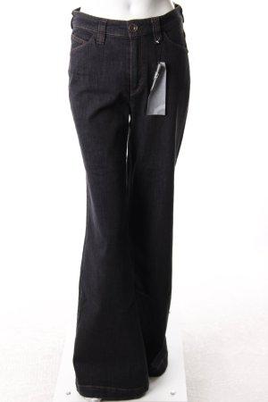 Rosner Jeansschlaghose schwarz