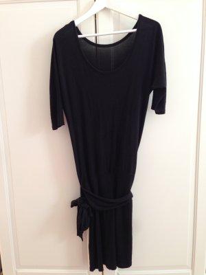Rosner, schwarzes Kleid, Abendkleid, Stoffgürtel, Gr.38