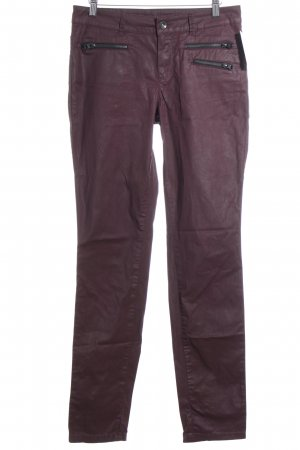 Rosner Slim Jeans bordeauxrot Casual-Look