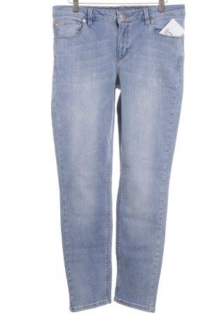 Rosner Slim Jeans hellblau Street-Fashion-Look