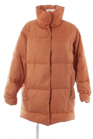 Rosner Quilted Coat orange casual look
