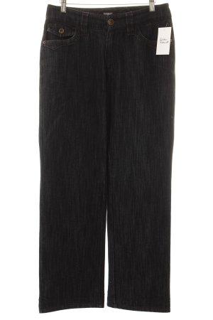 Rosner Straight-Leg Jeans dunkelblau meliert Casual-Look