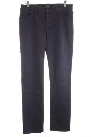 Rosner Straight-Leg Jeans dunkelviolett Casual-Look