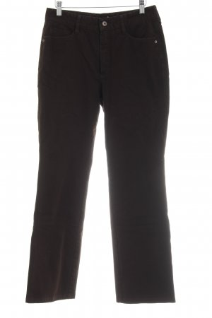 Rosner Straight-Leg Jeans schwarzbraun schlichter Stil