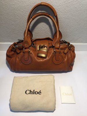 Rostbraune Chloé Paddington Bag