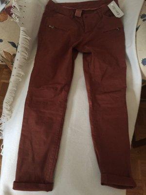 rostbraune Jeans Gr. XL - nie getragen (siehe auch passendes TShirt dazu)