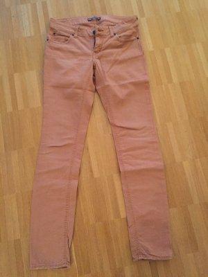 rostfarbene Drykorn Jeans