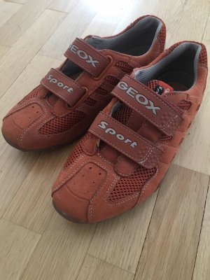Geox Sneaker con strappi arancione scuro-ruggine