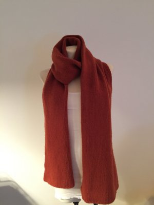 0039 Italy Woolen Scarf orange wool