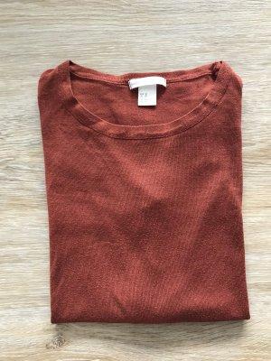 Rostfarbenes Shirt von H&M