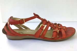 Marco Tozzi Roman Sandals grey brown-russet