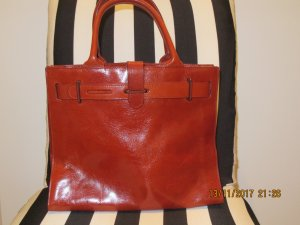 Furla Carry Bag russet leather