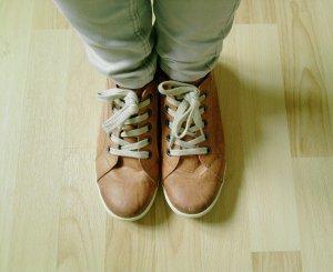 Rostrote Schuhe von Marco Tozzi