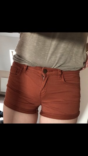rostrote Shorts H&M