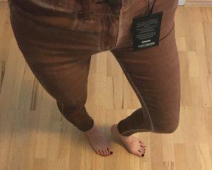 Rostrote Skinny Hose Jeans in Xs-Xxs von Bebe  Neu!!!