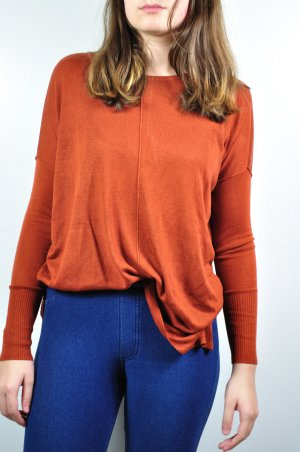 Rostroter Pullover H&M lang