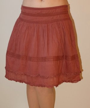 Promod Circle Skirt carmine-brick red