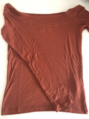 Hollister Top épaules dénudées rouge carmin