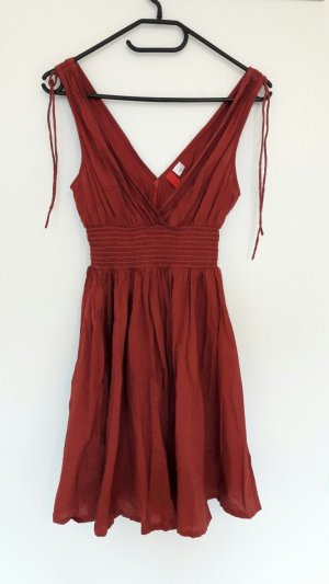 H&M Divided Empire Dress multicolored cotton
