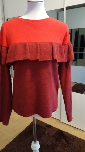 Rot Bordeaux pullover