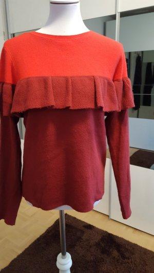 Vero Moda Pull rouge-rouge foncé