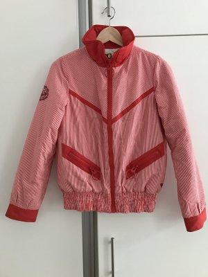 Rot Gestreifte Jacke von Roxy