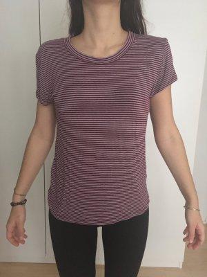 Rot-gestreiftes Shirt von Brandy&Melville
