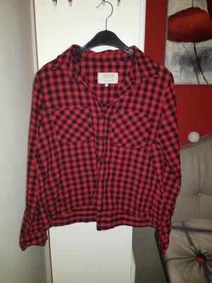 Rot kariertes Hemd von Zara