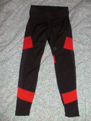 Rot-orange Trainingshose/Sporthose