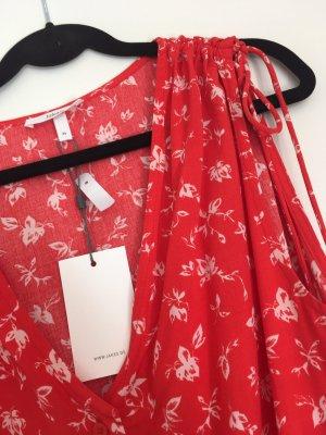 Jake*s Midi-jurk rood-oranje