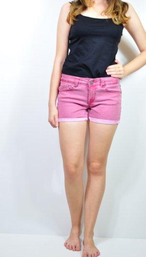 Rot Pinke kurze Hose Shorts
