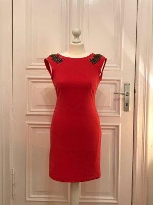 rot/pinkes Abendkleid von Zara